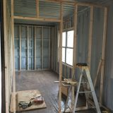 Framing the interior