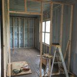 Framing the interior