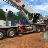 Crane Day #2- Setting the other 2 Shipping Containers