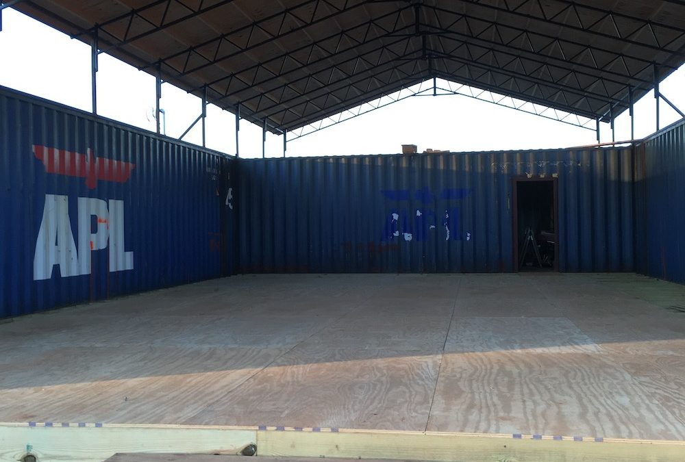 Shipping Container House- Building the Floor