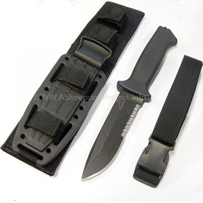 Gerber Prodigy Survival Combat Knife review